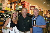 """Marlene, Dick & Gary @ Total Wine Ft Lauderdale"" 6-4-11"