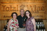 """Debra, Dick & Christiana @ Total Wine Jax"" 6-11-11"