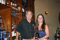 """Dick & Liz @ Island Girl Wine & Cigar Bar Jax"" 6-11-11"