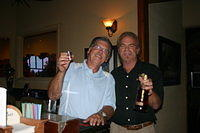 """Alan & Dick @ Island Girl Wine & Cigar Bar"" 6-11-11"