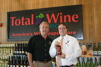 "Dick & Chris @ ""Total Wine Boynton Beach"" 6-17-11"