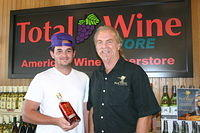 "Henry & Dick @ ""Total Wine Boynton Beach"" 6-17-11"