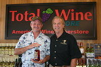 "Tom & Dick @ ""Total Wine Boynton Beach"" 6-17-11"