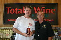 "Barron & Dick @ ""Total Wine Boynton Beach"" 6-17-11"