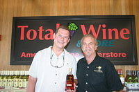 "Frank & Dick @ ""Total Wine Boynton Beach"" 6-17-11"