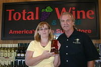 "Sharon & Dick @ ""Total Wine Boynton Beach"" 6-17-11"