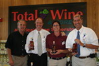 "Dick, Michael, Lauren & Mike @ ""Total Wine Boynton Beach"" 6-17-11"