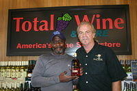 "Victor & Dick @ ""Total Wine Boynton Beach"" 6-17-11"