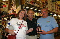 "Jeanette, Dick & Gary @ ""Total Wine Wellington"" 6-18-11"