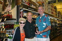 "Sharon, Dick & Butch @ ""Total Wine Wellington"" 6-18-11"
