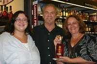 "Brooke, Dick & Melanie @ ""Total Wine Wellington"" 6-18-11"