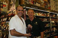 "George & Dick @ ""Total Wine Wellington"" 6-18-11"