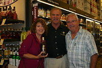 "Vilma, Dick & William @ ""Total Wine Wellington"" 6-18-11"