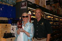 "Frances & Dick @ ""Total Wine Miami"" 6-24-11"