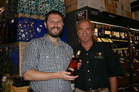 "Michael & Dick @ ""Total Wine Miami"" 6-24-11"