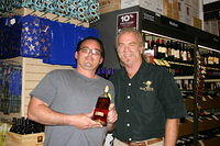 "Joey & Dick @ ""Total Wine Miami"" 6-24-11"