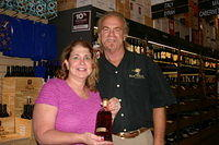 "Viviam & Dick @ ""Total Wine Miami"" 6-24-11"