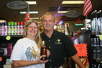 "Lori & Dick @ ""Seminole Liquor"" 9-10-11"