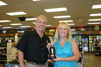 "Dick & Cindy @ ""ABC SW College Rd, Ocala"" 9-23-11"