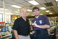 "Dick & Andrew @ ""ABC Howell Branch Rd"" 9-24-11"